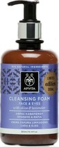 Cleansing Foam Face and Eyes with Olive & Lavender 300ml - $26.99