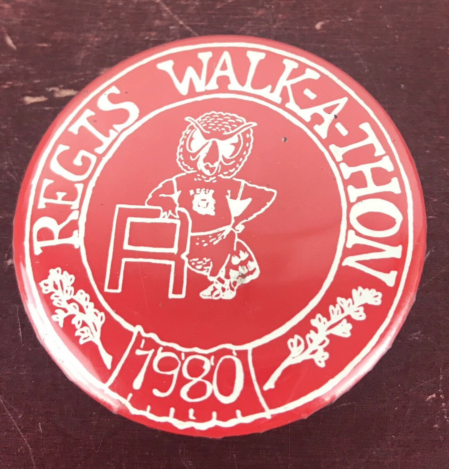Primary image for Regis Walk-A-Thon 1980 Pin