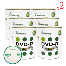 1200 Pack Smartbuy 16X DVD-R 4.7GB 120Min Logo Top Blank Media Recordable Disc - $184.83