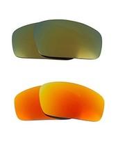 New Seek Optics Replacement Lenses Oakley Monster Pup   Yellow Green - $23.25
