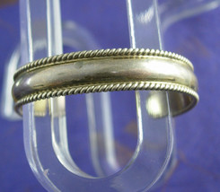 Navajo Sterling baby Cuff Bracelet childs small Signed Tahe Vintage Silv... - $95.00