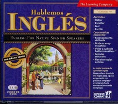 Hablémos Inglés 7.0 (3CDs) for Windows - NEW CDs in SLEEVE - $9.98