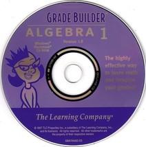 Grade Builder Algebra 1 CD-ROM for Win/Mac - NE... - $19.98