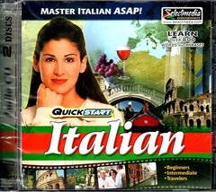 QuickStart Italian (2 AUDIO CD SET) - NEW CDs in SLEEVE - $9.98