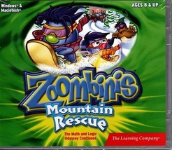 Zoombinis Mountain Rescue (Ages 8+) CD-ROM for Win/Mac - NEW CD in SLEEVE - $9.98
