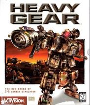 HEAVY GEAR (2 CDs) for Windows 95 - NEW CD in SLEEVE - $19.98