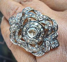 DIAMOND RING SZ 8, 59.59CTS SER#7 - $300.00