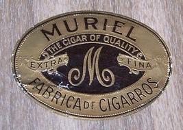 Vintage Murial Cigar Box Seal Label - $14.85