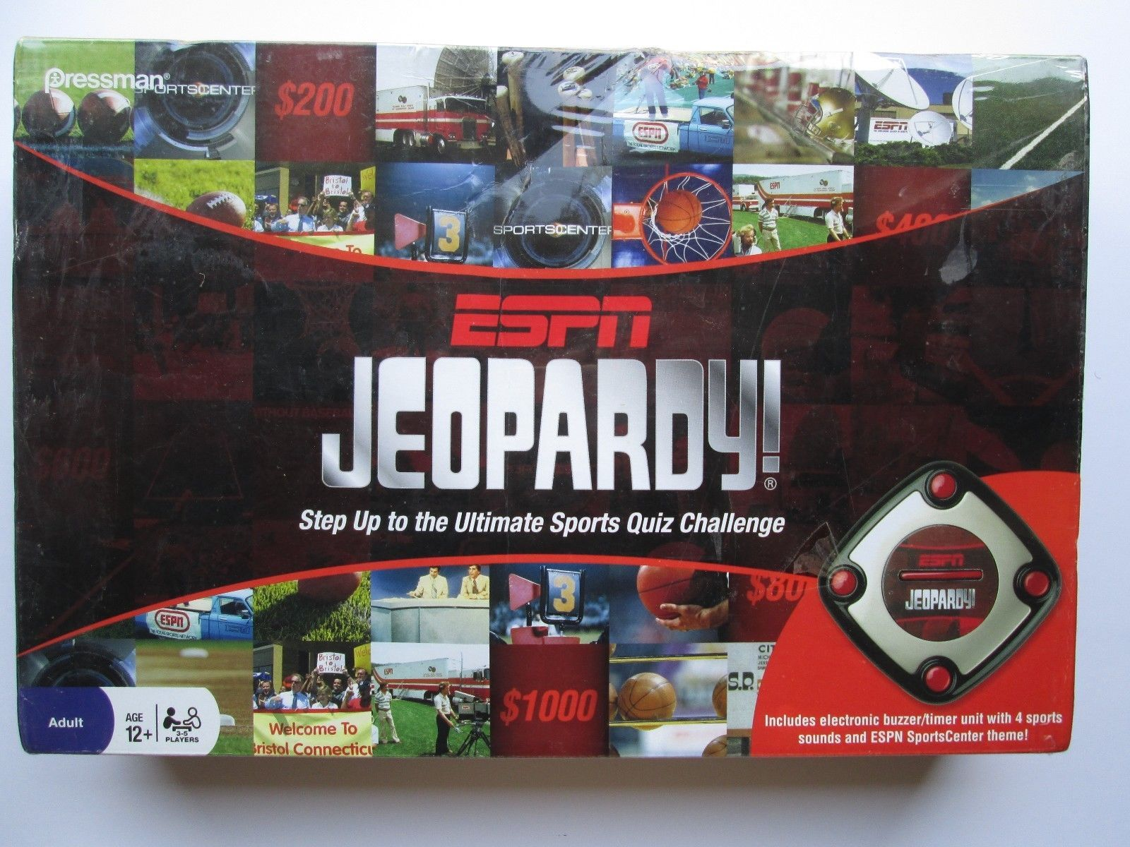 Pressman ESPN Jeopardy Board Game Electronic and 10 similar items