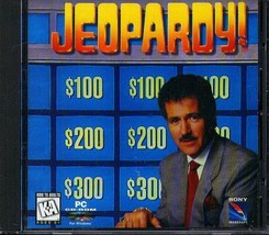 Jeopardy! (Pc Cd, 1995) For Windows   New Cd In Sleeve - $6.98