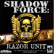 Shadow Force: Razor Unit CD-ROM for Windows - NEW in SLV - $9.98