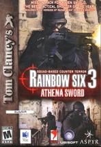 Tom Clancy's Rainbow Six 3: Athena Sword CD-ROM for Mac - NEW in JC - $9.98