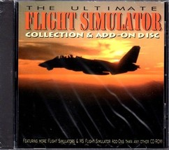 The Ultimate Flight Simulator Collection & Add-On Disc PC-CD - NEW in JC - $19.98