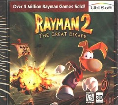 Rayman 2: The Great Escape (PC-CD, 1999) for Windows 95/98 - NEW CD in S... - $7.98