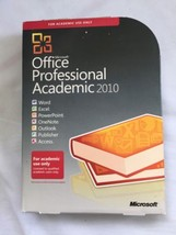 Microsoft Office Professional Academic 2010 - $95.79