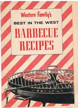 Vintage Western Family's Best in the West Barbecue Recipes - $4.99