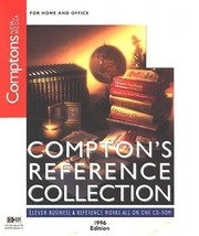 Compton's Reference Collection '96 CD-ROM for Windows - NEW CD in SLEEVE - $7.98