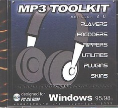 MP3 TOOLKIT v2.0 CD-ROM for Windows - NEW CD in SLEEVE - $9.98