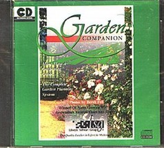 Garden Companion CD-ROM for Windows - NEW CD in SLEEVE - $9.98