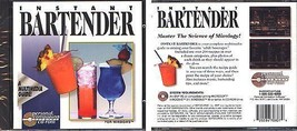 Instant BARTENDER CD-ROM for Windows - NEW CD in SLEEVE - $9.98