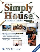 Simply House CD-ROM for Windows - NEW CD in SLEEVE - $9.98