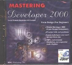Mastering Developer 2000 CD-ROM for Windows - NEW CD in SLEEVE - $7.98