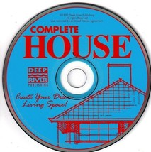 Complete House PC-CD-ROM Windows - NEW CD in SLEEVE - $8.98