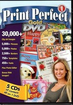 Print Perfect Gold DVD-ROM for Windows - NEW in DVD BOX - $11.98