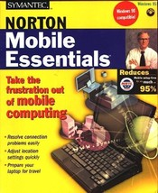 NORTON Mobile Essentials CD-ROM for Windows 95/98 - NEW in JC - $9.98