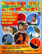 TROPICAL HEAT Screen Savers CD-ROM for Windows - NEW in JC - $9.98