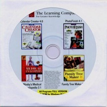Mosby's Medical Encyc. v2.1 + 3 MORE TITLES PC-CD for Windows - NEW CD i... - $9.98