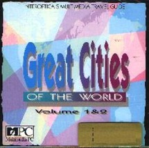 Great Cities Volume 1 & 2 CD-ROM for Windows - NEW CD in SLEEVE - $5.98