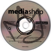 MediaShop Express PC-CD for Windows - NEW CD in SLEEVE - $9.98