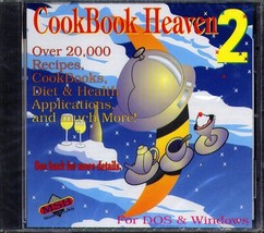 CookBook Heaven 2 CD-ROM for Win/DOS - NEW Sealed JC - $7.98