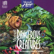 Microsoft Dangerous Creatures (PC-CD, 1994) for Windows - NEW CD in SLEEVE - $7.98