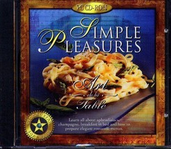Simple Pleasures CD-ROM for Windows - NEW Sealed JC - $11.98