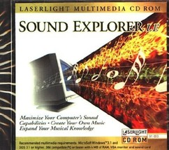 Sound Explorer LE CD-ROM for Win/DOS - NEW in SLEEVE - $7.98