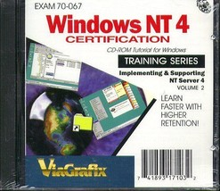 ViaGrafix: Windows NT 4 Certification CD-ROM fo... - $9.98