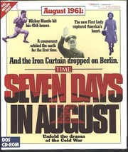 Seven Days in August CD-ROM for DOS - NEW in SLEEVE - $9.98