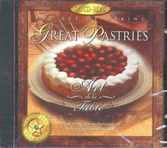 The Art of Making Great Pastries CD-ROM for Windows - New Sealed JC - $11.98