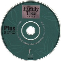 Ultimate Family Tree Plus CD-ROM for Windows - NEW CD in SLEEVE - $9.98