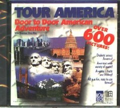TOUR AMERICA: Door-to-Door American Adv. CD-ROM for Windows - NEW CD in ... - $7.98