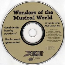 Wonders of the Musical World CD-ROM DOS/Win - NEW CD in SLEEVE - $9.98
