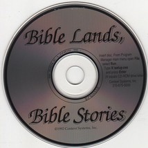 Bible Lands, Bible Stories (Age 3-12) PC-CD for Windows - NEW CD in SLEEVE - $9.98
