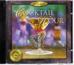 Cocktail Hour (Art de la Table) CD-ROM for Windows - New Sealed JC - $9.98