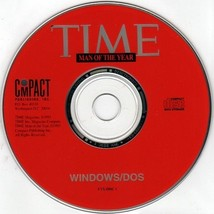 Time Man Of The Year Cd Rom For Win/Dos   New Cd In Slv - $7.98
