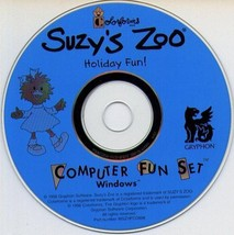 Suzy's Zoo Holiday Fun! CD-ROM for Windows - NEW in SLEEVE - $19.98