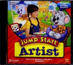 JumpStart Artist (Ages 5-8) (PC-CD, 2006) for Windows - NEW in Jewel Case - $11.98