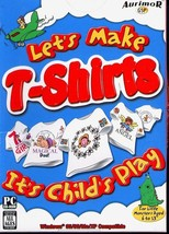 Let's Make T-Shirts (Ages 6-13) (PC-CD, 2004) for Windows 95-XP-NEW CD i... - $9.98