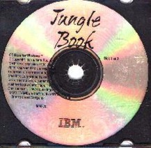 Jungle Book (Ages 5-9) (2 PC-CD's, 1996) for Windows - NEW CDs in SLEEVE - $7.98